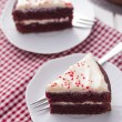 Stock Photo: Red velvet cake