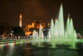 Istanbul by night — Stock Photo