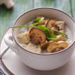 Stock Photo: Mushroom pottage