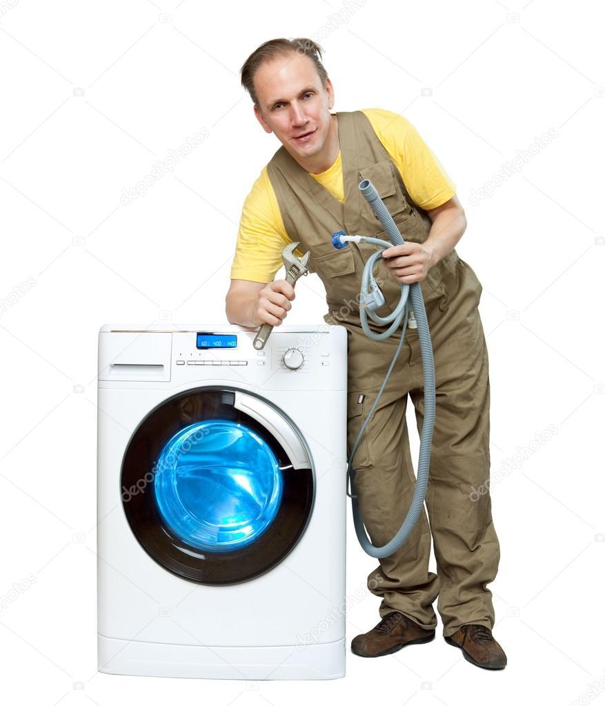 Слив в стиральной машине схема