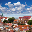 Royalty-Free Stock Photo: View of Old city&#039;s roofs. Tallinn. Estonia.