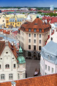 View of Old city's roofs . Tallinn. Estonia — Stockfoto