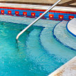 Input to the small pool jacuzzi — Stockfoto