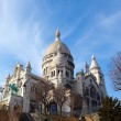 Royalty-Free Stock Photo: The Basilica of Sacre-Coeur, Montmartre. Paris.
