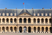 Courtyard of Les Invalides, Paris — Stock Photo