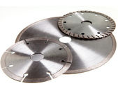 Diamond discs for tile and concrete cutting — Stock Photo