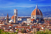 Italia. florencia. catedral de santa maría del fiore — Foto de Stock