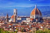 Italy. Florence. Cathedral Santa Maria del Fiore — Stock Photo