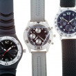 Wrist watches with several dials — ストック写真