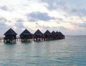 Maldives.Early morning — Stock Photo
