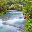 Stock Photo: Jamaica. Dunn's River waterfalls
