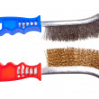 Wire brush - Foto Stock