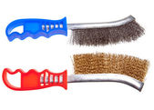 Wire brush — Stock Photo