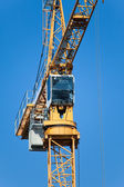 The building crane during an operating time — Stock Photo
