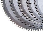 Aresta de corte - disco de serra circular para corte de madeira — Foto Stock