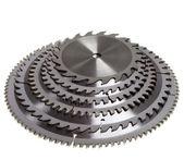 Cutting edge- Circular Saw disc for wood cutting — Stock Photo