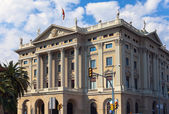 Spain. Barcelona. Military Government Buildin — Stock Photo