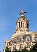 España. barcelona. edificio antiguo en el pasaje de gracia — Foto de Stock