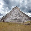 Kukulkan Pyramid in Chichen Itza on the Yucatan, Mexico — Stock Photo #26981405