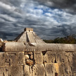 Stock Photo: KukulkPyramid in Chichen Itzon Yucatan, Mexico