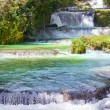 Jamaica. Dunn's River waterfalls — Stock Photo