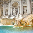 Italy. Rome. Fountain of Trevi at nigh — Stock Photo #27600027