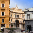Stock Photo: Italy. Naples. Gallery Umberto- century public galler