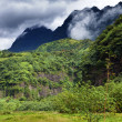 Tahiti, mountains. Tropical nature — Stock Photo
