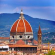 Italy. Florence. Cathedral Santa Maria del Fiore — Stock Photo
