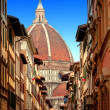 Italy. Florence. Cathedral Santa Maria del Fiorence — Stock Photo