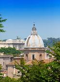 La vista superior de la ciudad. roma. italia — Foto de Stock