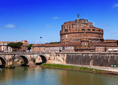 Rome. Italy. Castel Sant' Angelo — Stock Photo