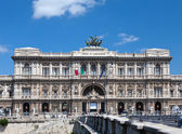 The Supreme Court of Cassation in Rome, Italy — Stock Photo