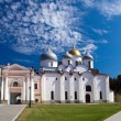 Saint Sophia cathedral in Kremlin, Great Novgorod, Russia — Stock Photo