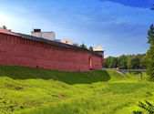 The Kremlin (Detinets-stronghold). Great Novgorod. Russia — Foto Stock