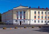 Russia, Great Novgorod. Department of Internal Affairs — Stock Photo