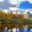 Stock Photo: Russia. Saint-Petersburg. Gatchina. Autumn in palace park