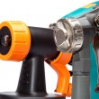 Stock Photo: Nozzle of spray gun close up