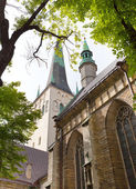 St Olaf (Oleviste) Church. Tallinn, Estonian — Stock Photo