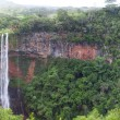 Chamarel waterfalls in Mauritius — Stock Photo #32540661