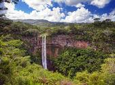 Chamarel vodopády na mauriciu — Stock fotografie