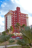 "Cuba. "" Nacional"" hotel -The most known hotel of Havana, is constructed in 1930. — Stock Photo"