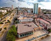 Cuba. Old Havana. Top view. Prospectus of presidents — Stock Photo