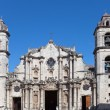 Cuba.The Cathedral of Havana — Stock Photo #34624593