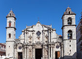 Cuba.The Cathedral of Havana — Stock Photo