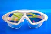 Glasses, swimming mask, with an antiglare covering — Stock Photo