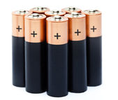 Finger-type batteries. — Stock Photo