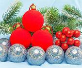 New Year's balls — Stock Photo