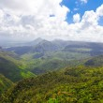 Mauritius, landscape of the island — Stock Photo #38345521