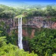 Chamarel waterfalls in Mauritius — Stock Photo #38345599